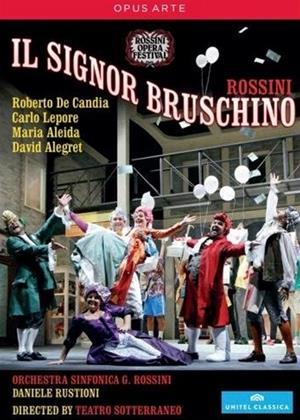 Rent Il Signor Bruschino: Rossini Opera Festival (Daniele Rustioni) Online DVD Rental