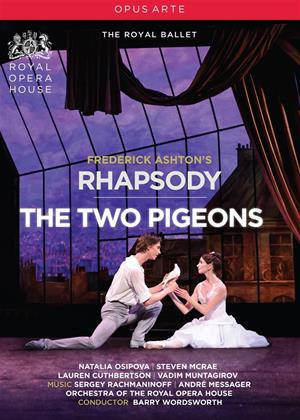 Rent Ashton: Rhapsody / The Two Pigeons: The Royal Ballet (Barry Wordsworth) Online DVD Rental