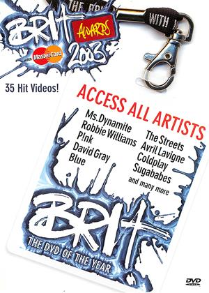 Rent The Brit Awards 2003 Online DVD Rental