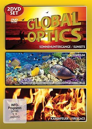 Rent Global Optics (aka Global Optics - Sunsets / Aquarium / Fire Place / Underwater Worlds) Online DVD & Blu-ray Rental