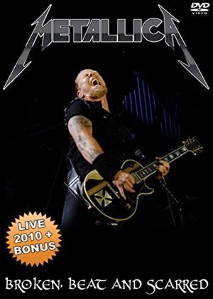 Rent Metallica: Broken, Beat and Scarred Online DVD Rental