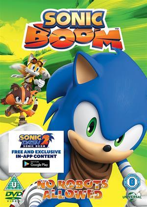 Rent Sonic Boom: Vol.4: No Robots Allowed Online DVD Rental