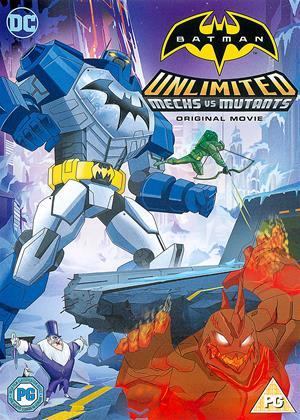 Rent Batman Unlimited: Mech vs. Mutants Online DVD Rental