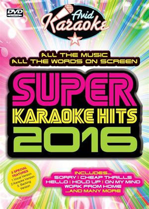 Rent Super Karaoke Hits 2016 Online DVD Rental
