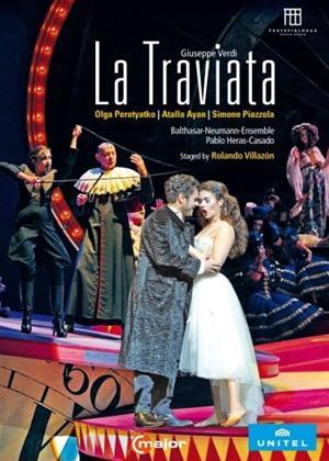 Rent La Traviata: Balthasar-Neumann (Heras-Casado) Online DVD Rental
