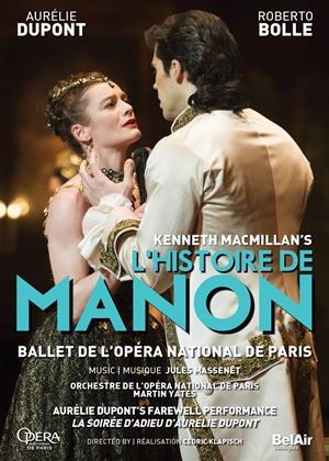 Rent L'histoire De Manon: Opera De Paris Online DVD & Blu-ray Rental