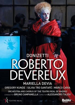 Rent Roberto Devereux: Teatro Real De Madrid (Bruno Campanella) Online DVD Rental