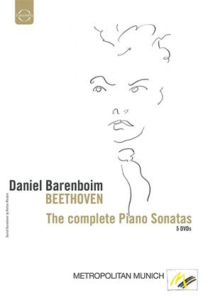 Rent Daniel Barenboim: Beethoven: The Complete Piano Sonatas Online DVD Rental