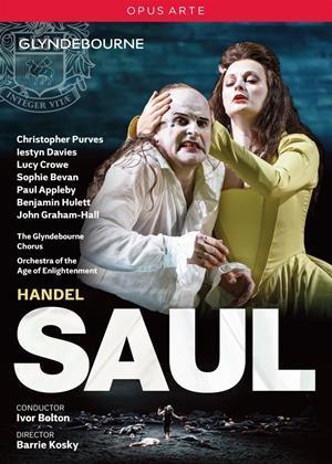 Rent Saul: Glyndebourne Festival (Ivor Bolton) Online DVD & Blu-ray Rental