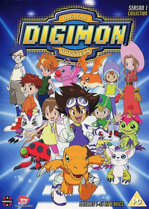 Rent Digimon: Digital Monsters: Series 1 Online DVD Rental