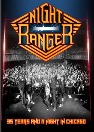 Rent Night Ranger: 35 Years and a Night in Chicago Online DVD & Blu-ray Rental