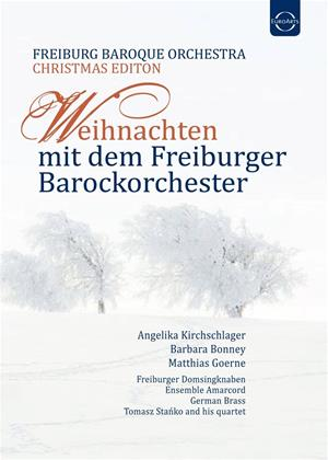 Rent Christmas with the Freiburg Baroque Orchestra Online DVD Rental
