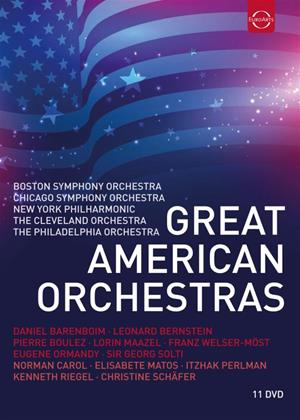 Rent Great American Orchestras Online DVD Rental