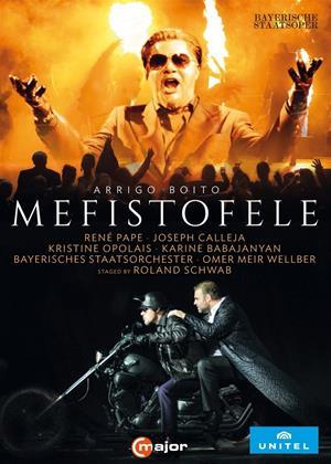 Rent Mefistofele: Bayerisches Staatsoper (Omer Meir Wellber) Online DVD & Blu-ray Rental