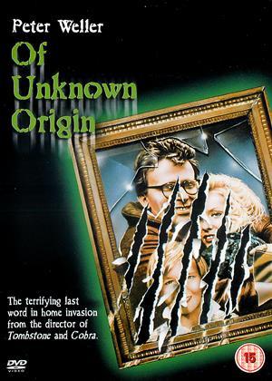 Rent Of Unknown Origin Online DVD Rental