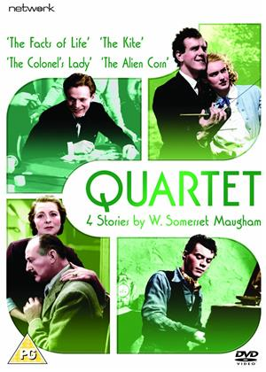 Rent Quartet (aka Quartet: The Facts of Life / The Kite / The Colonel's Lady / The Alien Corn) Online DVD Rental