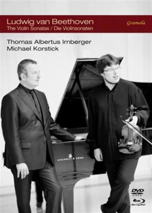 Rent Ludwig Van Beethoven: The Violin Sonatas Online DVD Rental