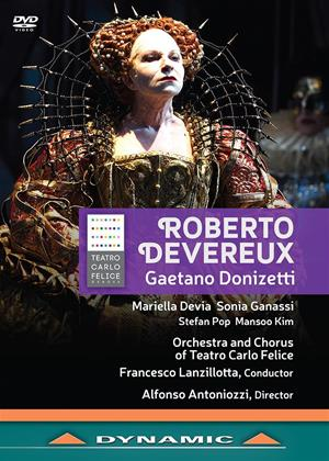 Rent Roberto Devereux: Teatro Carlo Felice (Francesco Lanzillotta) Online DVD Rental