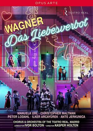 Rent Wagner: Das Liebesverbot: Teatro Real (Ivor Bolton) Online DVD Rental