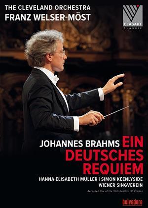 Rent Johannes Brahms: Ein Deutsches Requiem Op. 45 (Franz Welser-Möst) Online DVD Rental