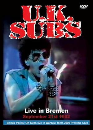 Rent UK Subs: Live in Bremen Online DVD Rental