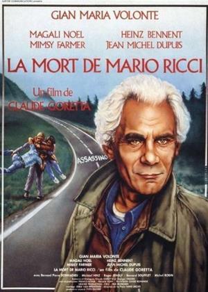 Rent The Death of Mario Ricci (aka La mort de Mario Ricci) Online DVD Rental