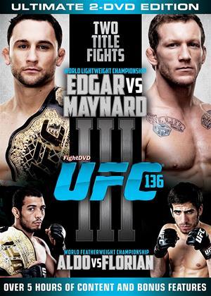 Rent UFC 136: Edgar vs. Maynard Online DVD Rental