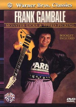 Rent Frank Gambale: Monster Licks and Speed Picking Guitar Online DVD Rental