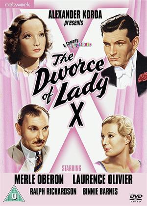 Rent The Divorce of Lady X Online DVD Rental