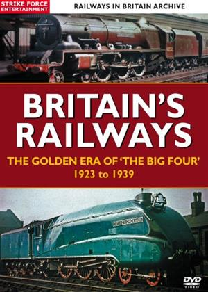 Rent Britain's Railways (aka Britain's Railways: The Golden Age of The Big Four' 1923 to 1939) Online DVD Rental