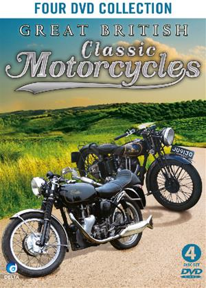 Rent Great British Classic Motorcycles Online DVD Rental