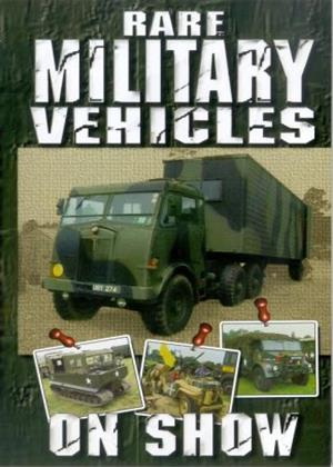 Rent Rare Military Vehicles on Show Online DVD Rental