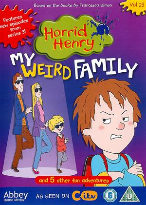 Rent Horrid Henry: My Weird Family Online DVD Rental