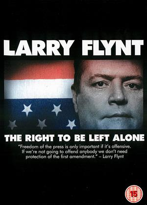 Rent Larry Flynt: The Right to Be Left Alone Online DVD & Blu-ray Rental