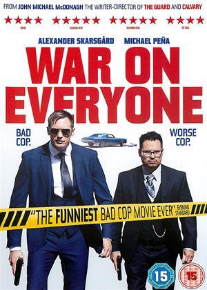 Rent War on Everyone Online DVD Rental