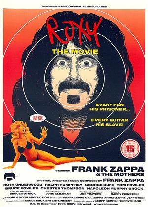 Rent Roxy: The Movie (aka Frank Zappa: Roxy: The Movie) Online DVD & Blu-ray Rental