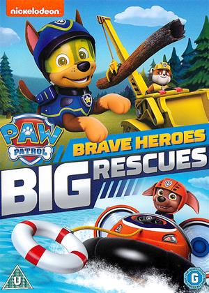 Rent Paw Patrol: Brave Heroes, Big Rescues Online DVD Rental
