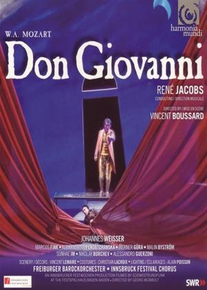 Rent Mozart: Don Giovanni (Rene Jacobs) (aka Wolfgang Amadeus Mozart: Don Giovanni, Order: Der bestrafte Wüstling) Online DVD Rental
