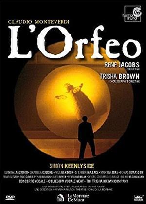 Rent L'Orfeo: La Monnaie, Brussels (Rene Jacobs) (aka L'orfeo, favola in musica) Online DVD & Blu-ray Rental