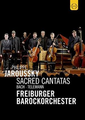 Rent Philippe Jaroussky: Sacred Cantatas: Bach and Telemann Online DVD Rental