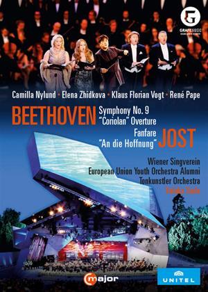 Rent Beethoven: Symphony No. 9 / Jost: An Die Hoffnung (Yutaka Sado) Online DVD Rental