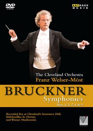 Rent The Cleveland Orchestra: Bruckner Symphonies (Franz Welser-Möst) Online DVD Rental