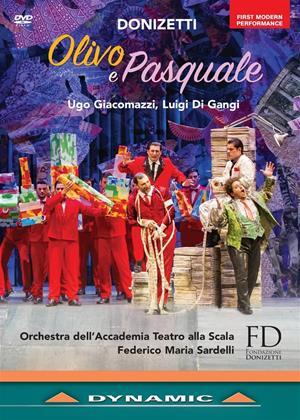 Rent Olivo e Pasquale: Donizetti Festival of Bergamo (Federico Maria Sardelli ) Online DVD Rental