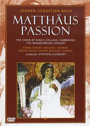 Rent Bach: St. Matthews Passion Online DVD Rental