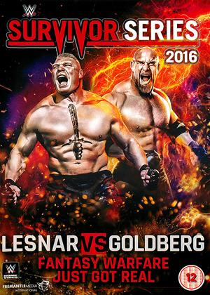 Rent WWE: Survivor Series 2016 Online DVD Rental
