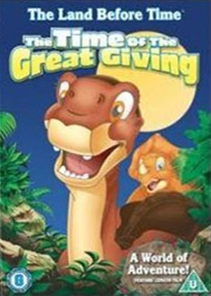 Rent The Land Before Time 3: The Time of Great Giving Online DVD Rental