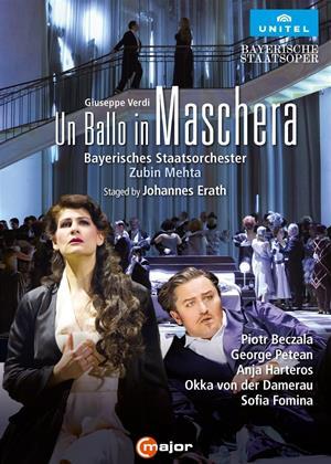 Rent Un Ballo in Maschera: Bayerisches Staatsorcester (Zubin Mehta) Online DVD & Blu-ray Rental
