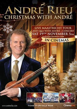 Rent André Rieu's Christmas Concert Online DVD Rental