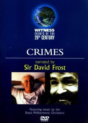 Rent Witness Events of the 20th Century: Crimes Online DVD Rental
