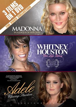 Rent Madonna, Whitney and Adele Online DVD Rental